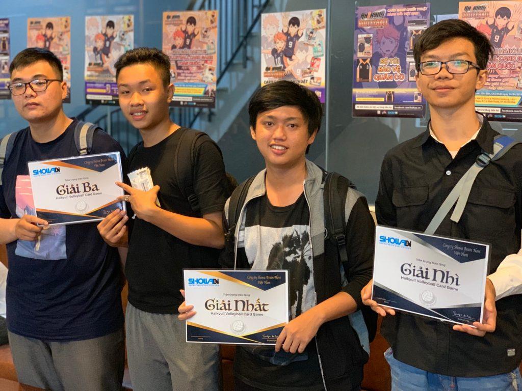 Giải đấu Haikyu!! Volleyball Card Game toàn quốc tại HCM
