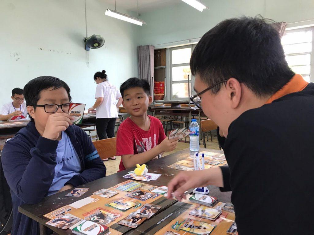Cùng chơi Haikyu!! tại trường THPT chuyên Trần Đại Nghĩa