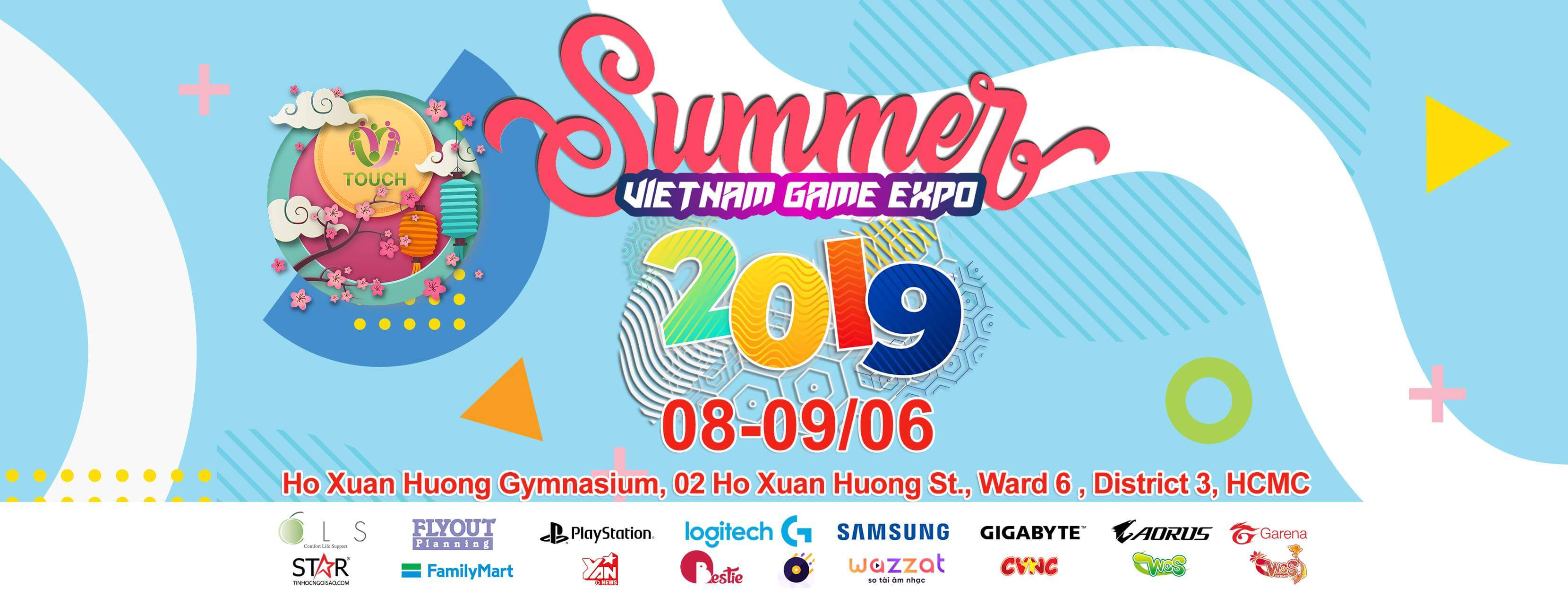 Touch Summer - Vietnam Game Expo 2019