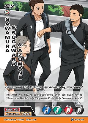 Sawamura & Sugawara & Azumane